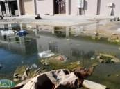 أضرار صحية تحاصر سكان حي النايفية بالهفوف ويشكون إهمال المقاول .