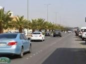 حوادث بالجملة تهدد أرواح المارة بمخطط الإدارات الحكومية بالأحساء