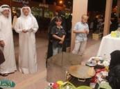 """"""" غريب """" معد برنامج """" وطني الحبيب """" في قطر لـ """" الأحساء نيوز """" : سعيد بزيارة القرية الشعبية كوني باحث ومهتم بالتراث الشعبي"""