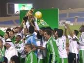 للمرة الثانية على التوالي الأهلي بطل لكأس الأمير فيصل بن فهد لكرة القدم