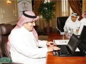 الأمير نواف بن فيصل يدشن الموقع الإلكتروني والشعار الجديد للجنة الأولمبية العربية السعودية