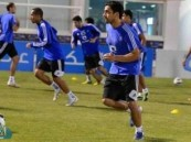 الهلال يعاود تدريباته وإدارته تؤجل الحديث عن مستقبل الفريق