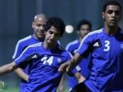 الهلال يصل الدوحة ويؤدي مرانه على الملعب الرديف بنادي لخويا