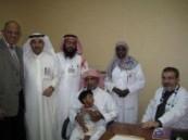 عيادة مستشفى الملك فيصل التخصصي تستقبل أول مرضاها بمستشفى الفهد بالهفوف