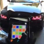 بالفيديو … التحكم بألوان مصابيح السيارة عن طريق الجوال