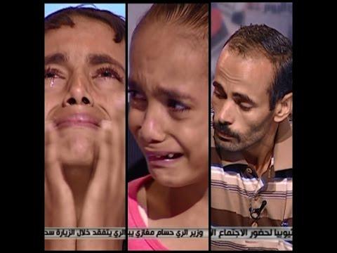 بالفيديو.. أب مصري يفاجئ أبنائه بخبر وفاة والدتهم على الهواء