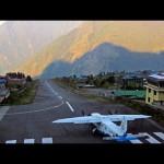 بالفيديو … أخطر وأصغر مطار في العالم