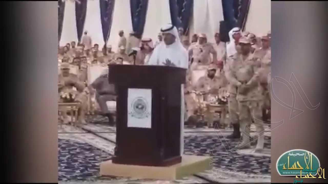 """بالفيديو … في الأحساء مواطن يخطف إعجاب سمو الأمير متعب بن عبدالله """"شعرًا"""""""