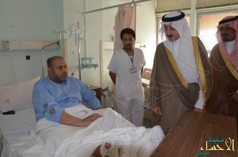 13 أحد المصابين بإصابات طفيفة من الحادثة