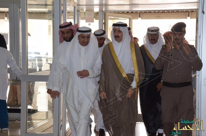 4 أثناء دخول الأمير بدر لمستشفى الملك فهد