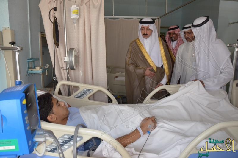 6أحد المصابين بإصابات خطيرة وتم إجراء العمليات اللازمة له