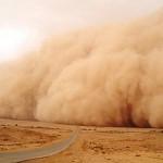 اتربة و عواصف رياح