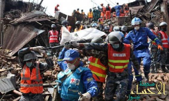 حصيلة زلزال نيبال ترتفع 5489