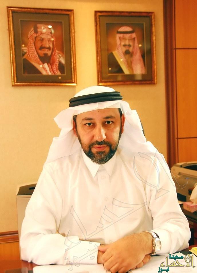 الدكتور احمد بن عبدالرحمن العرفج المدير الاقليمى بالقطاع الشرقى التنفيذى...