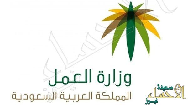 شعار وزارة العمل