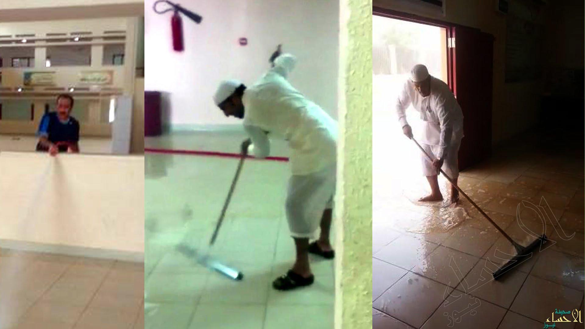 بالفيديو.. معلمو #الأحساء يفاجئون طلابهم بعمل جليل