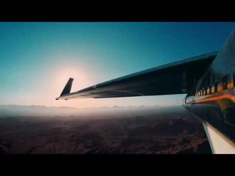 """بالفيديو.. طائرات """"فيسبوك"""" لتوصيل الإنترنت تحلق لأول مرة بدون طيار"""