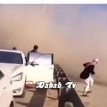 """بالفيديو … حادث """"مروع"""" يودي بحياة أشهر مفحط سعودي"""