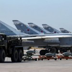 Russian military jets are seen at Hmeymim air base in Syria, June 18, 2016. Picture taken June 18, 2016. REUTERS/Vadim Savitsky/Russian Defense Ministry via Reuters ATTENTION EDITORS - THIS IMAGE WAS PROVIDED BY A THIRD PARTY. EDITORIAL USE ONLY.     TPX IMAGES OF THE DAY      - RTX2H48I