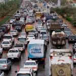 إزدحام شوارع الرياض