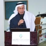 الشيخ عبدالعزيز العفالق يلقي كلمتة
