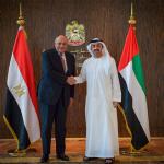 لقاء-وزير-الخارجية-المصري،-مع-الشيخ-عبدالله-بن-زايد-آل-نهيان-وزير-خارجية-الإمارات