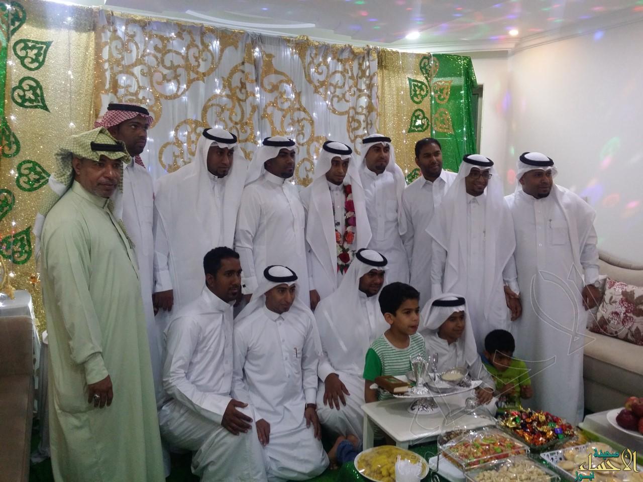 جماعية للعريس وأهله