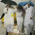 إدارة النصر تحت المطر