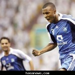 لاعب نادي الهلال أسامة هوساوي نجم الموسم الماضي
