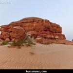 جبل الأربع بالأحساء - المصور / حسين علي المبارك