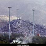 الحجاج على صعيد عرفات في يوم الحج الأكبر
