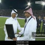 تكريم سامي الجابر ضمن مشاهير كاس العالم سفراء ملف قطر 2022