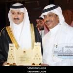 رئيس التحرير يتسلم جائزة تكريم الأحساء نيوز لرعايتها مهرجان سوق هجر2 - 2011  الإلكترونياً