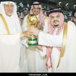الهلال بطلا لكأس ولي العهد بخماسية على الوحدة - 2011