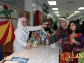 مستشفى الموسى العام يحتفل بالقرقيعان مع الزوار