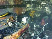حريق يسلب حياة طفلين تفحماً ببقيق