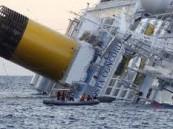 بالصور .. بدء أكبر عملية انتشال لسفينة عملاقة بعد 20 شهراً على غرقها