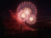 الألعاب النارية تعلن انطلاقة مهرجان عيدية بالأحساء