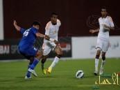 الشباب السعودي يتغلب على المنتخب الأولمبي الكويتي بهدفين