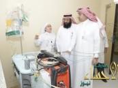 مستشفى الأمير سعود بن جلوي الجديد يستقبل أول حالة