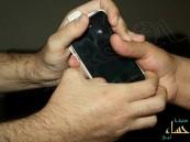 """"""" لــص """" يسلب بائع هاتفه بالقوة براشدية المبرز"""