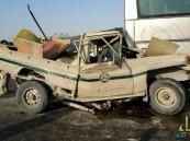 بالصور…شاص الدفاع الجوي يصطدم بحافلة موظفي القوات البحرية من الأحساء والإصابة بالغة