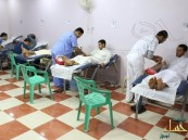 """( 235 ) مبادر للتبرع بالدم في ختام حملة القرين الخيرية الثانية """" دمك حياة """""""