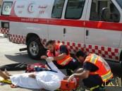 الهلال الأحمر بالشرقية يسعف 455 حالة اليومين الماضيين