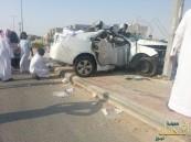 بالصور .. إستمراراً للإستهتار المروري حادث مروع في المراح  والضحية شاب ..!!