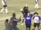 بالفيديو … مارادونا في مباراة خيرية يعيد أهدافه (الخيالية)