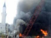 نشوب حريق مبنى شؤون الحرم النبوي والدفاع المدني يسيطر عليه