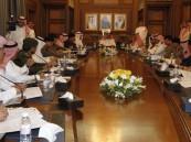 محمد بن نايف يناقش الخطط الأمنية على ضوء المستجدات باجتماع امني