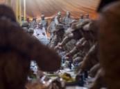 ولي العهد: حق لنا الاحتفال بالعيد مع من ضحّوا بفرحته مع أبنائهم لحماية وطنهم
