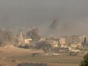 بالفيديو … إسرائيل تدمر حياً كاملاً في غزة خلال ساعة واحدة فقط